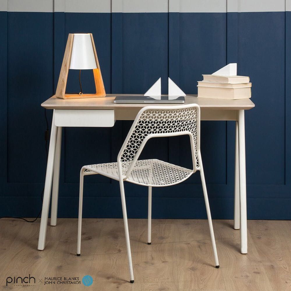 Stash Desk And Hot Mesh Chair By Blu Dot