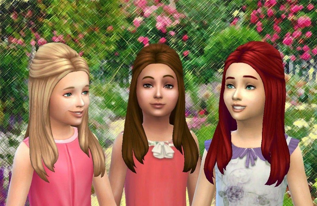 Long Hairstyle Quest Sims Freeplay Di 2020 Gaya Rambut Rambut