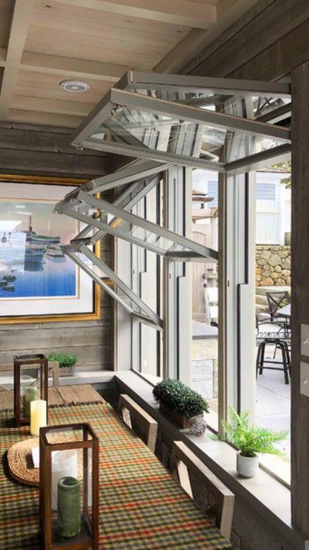Windows By Fold Up Windows In 2019 Three Season Room