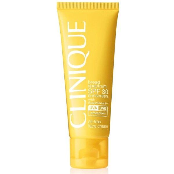 Clinique Broad Spectrum Spf Sunscreen 30 Oil-Free Face Cream - bem bom. Parece deixar oleosa, mas não dá espinhas.