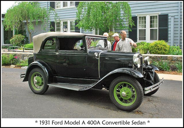 1931 Ford Model A Convertible Sedan Ford Models Ford Classic Cars