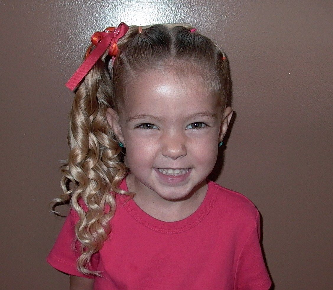 11 ways to do your little girls hair for picture day ...