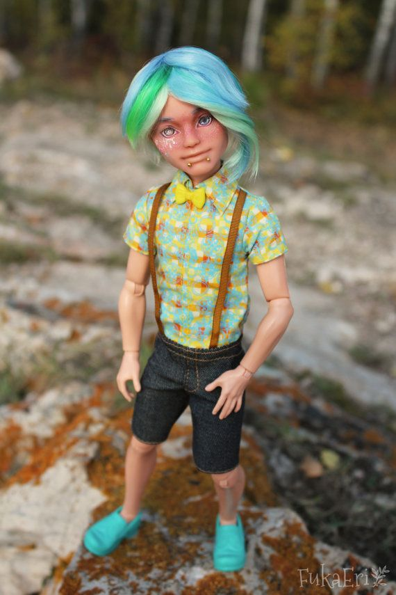 Je nach High Repaint Art Puppe OOAK Alistair Wonderland