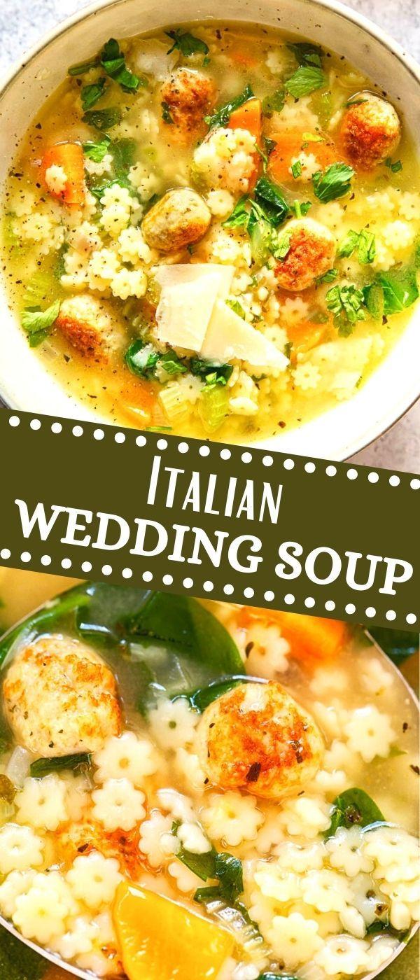 Italian Wedding Soup | Recipe | Italian comfort food