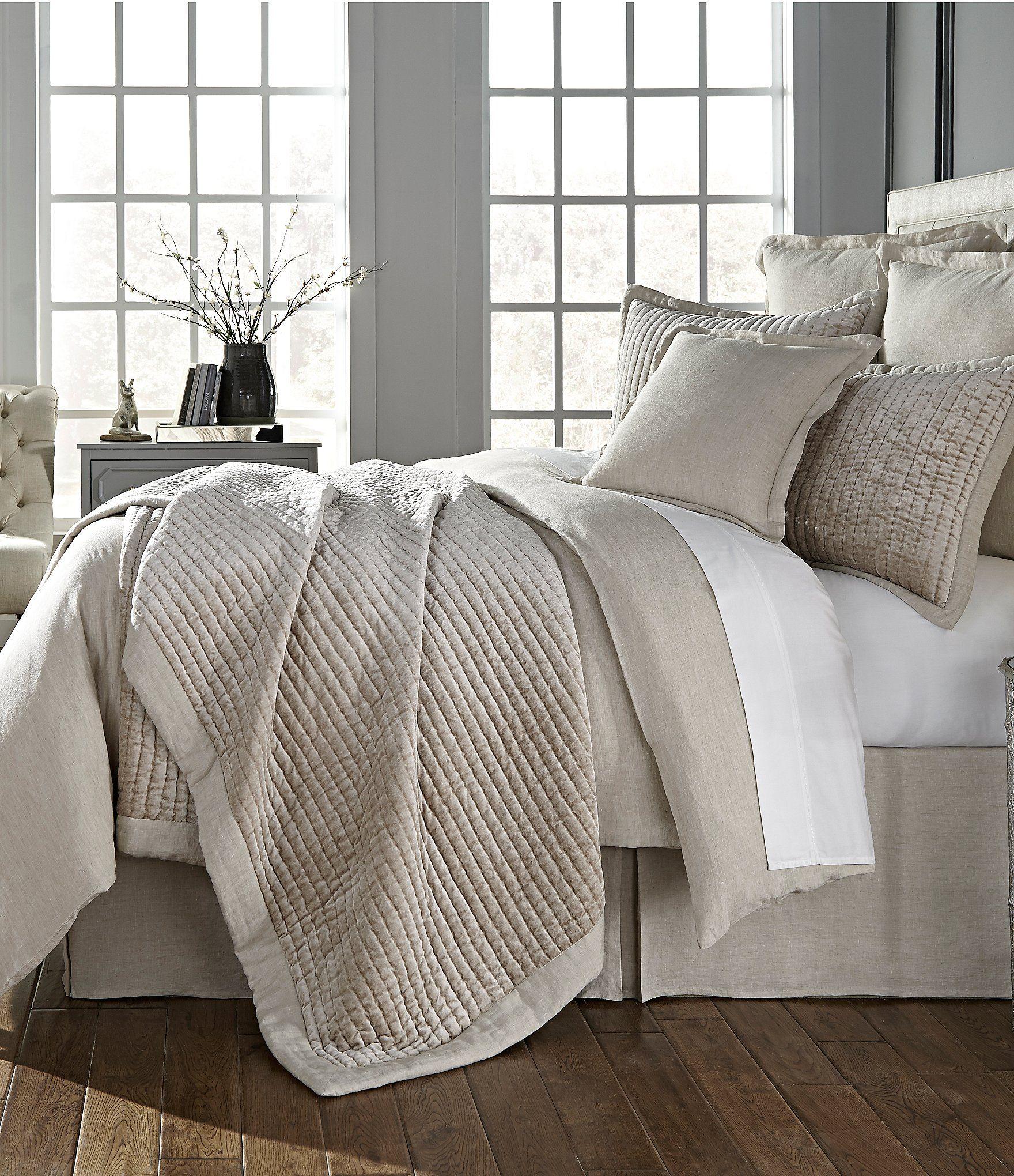 shop for southern living madison velvet & linen quilt mini set at