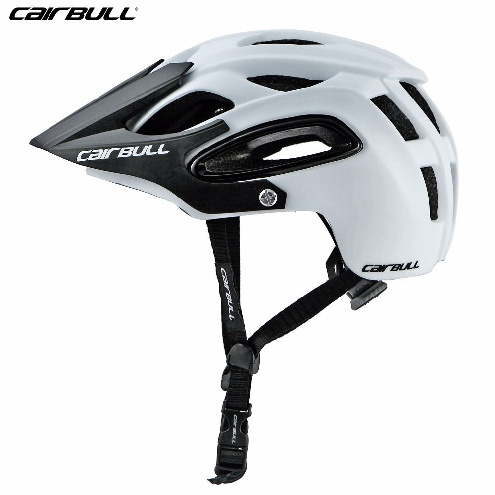 2018 Cairbull Cycling Helmet With Visor In Mold Mountain Road Bike