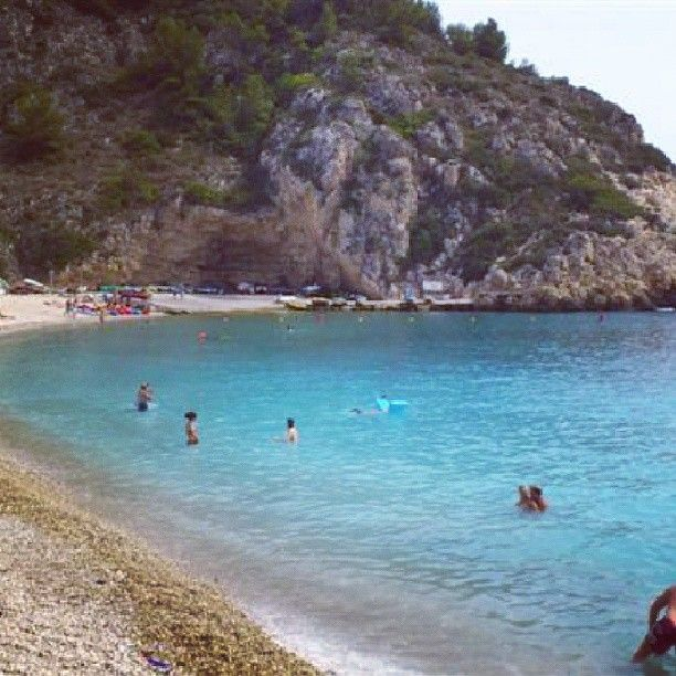 Cala De La Granadella En Jávea Calas Playa Costa Blanca