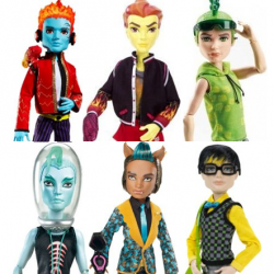 There are currently six monster high boy dolls Have a look and