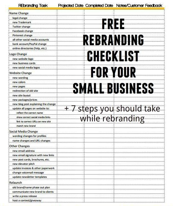 Branding or re-branding your #smallbusiness? Download our free - Free Liquor Inventory Spreadsheet