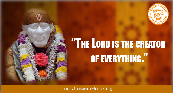 The Lord Is The Creator - Shirdi Sai Baba Wallpaper - Free