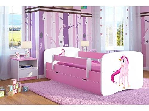 Pink Unicorn Toddler Girl Bed Kids Bed Junior Children's