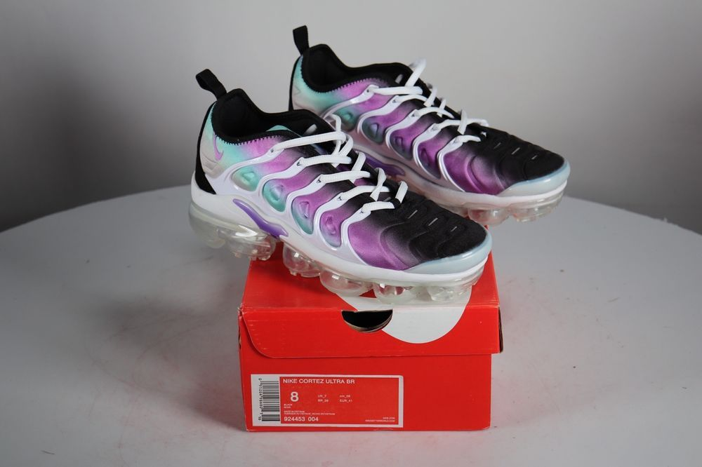 purchase cheap 00cd8 4f620 Nike Air Vapor Max plus White Fierce Purple Violet 924453 ...
