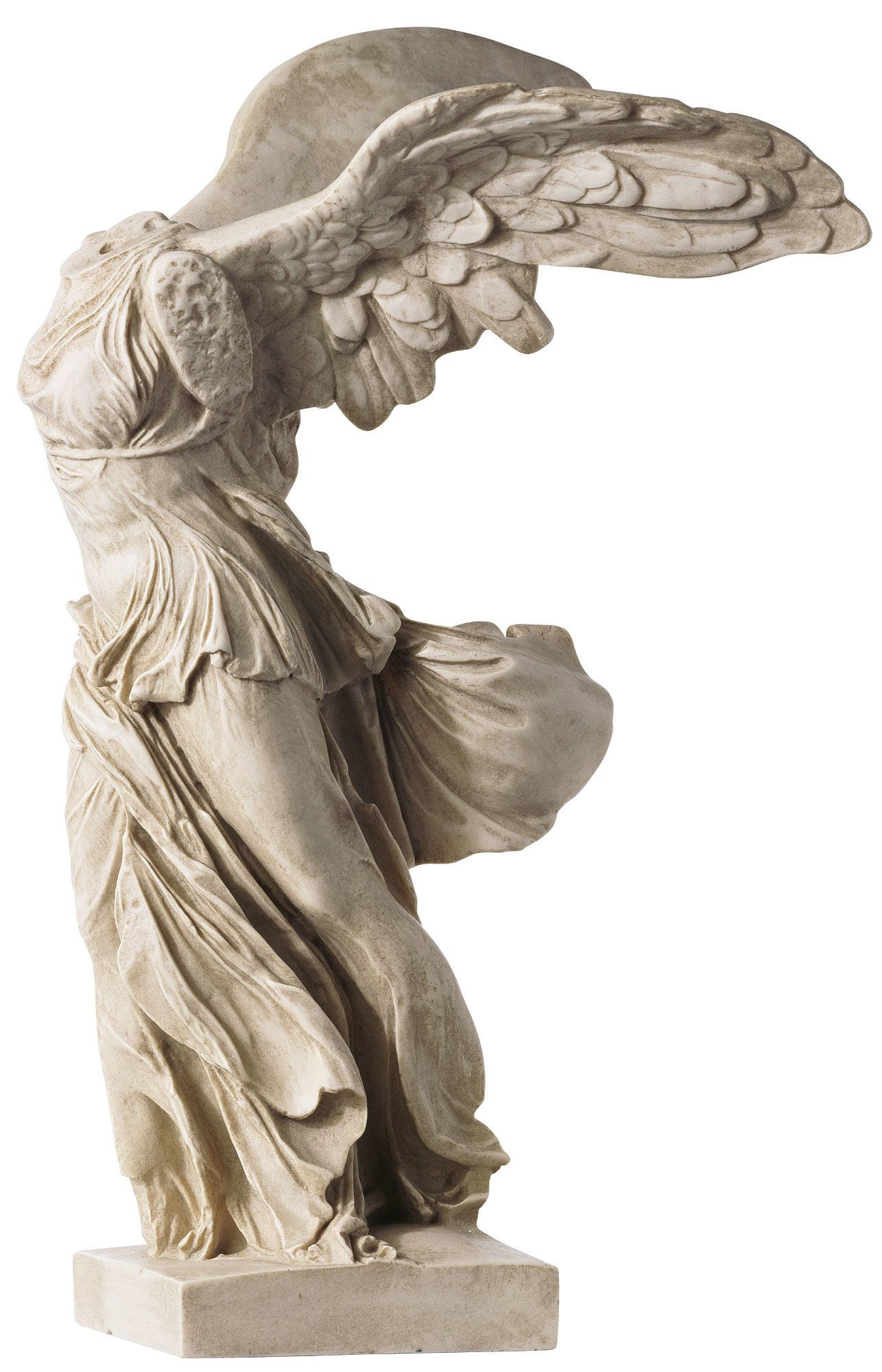 The Winged Victory of Samothrace, also called the Nike ofSamothrace, is a  2nd century. Roman SculptureArt ...