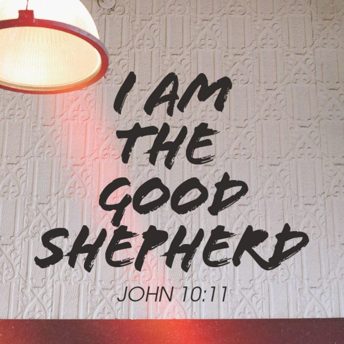Think about it. What is the job description of a shepherd