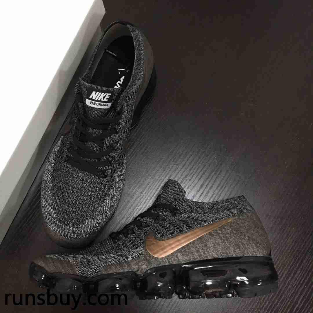 sale retailer 856f4 e2e97 So comfortable Shoes - Hot Nike Air VaporMax 2018 Flyknit Black Gray Gold  Tick
