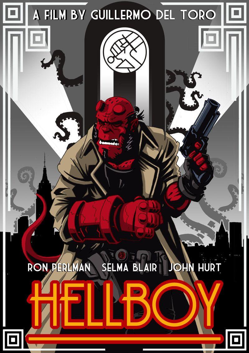 Art Deco Hellboy by RAAKILE.deviantart.com | Dynamic Art ...