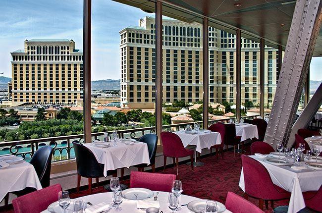 Eiffel Tower Restaurant Las Vegas in Paris Hotel Fave Places