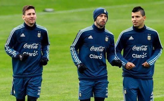 Sergio Aguero and Javier Mascherano follow Lionel Messi in quitting international football