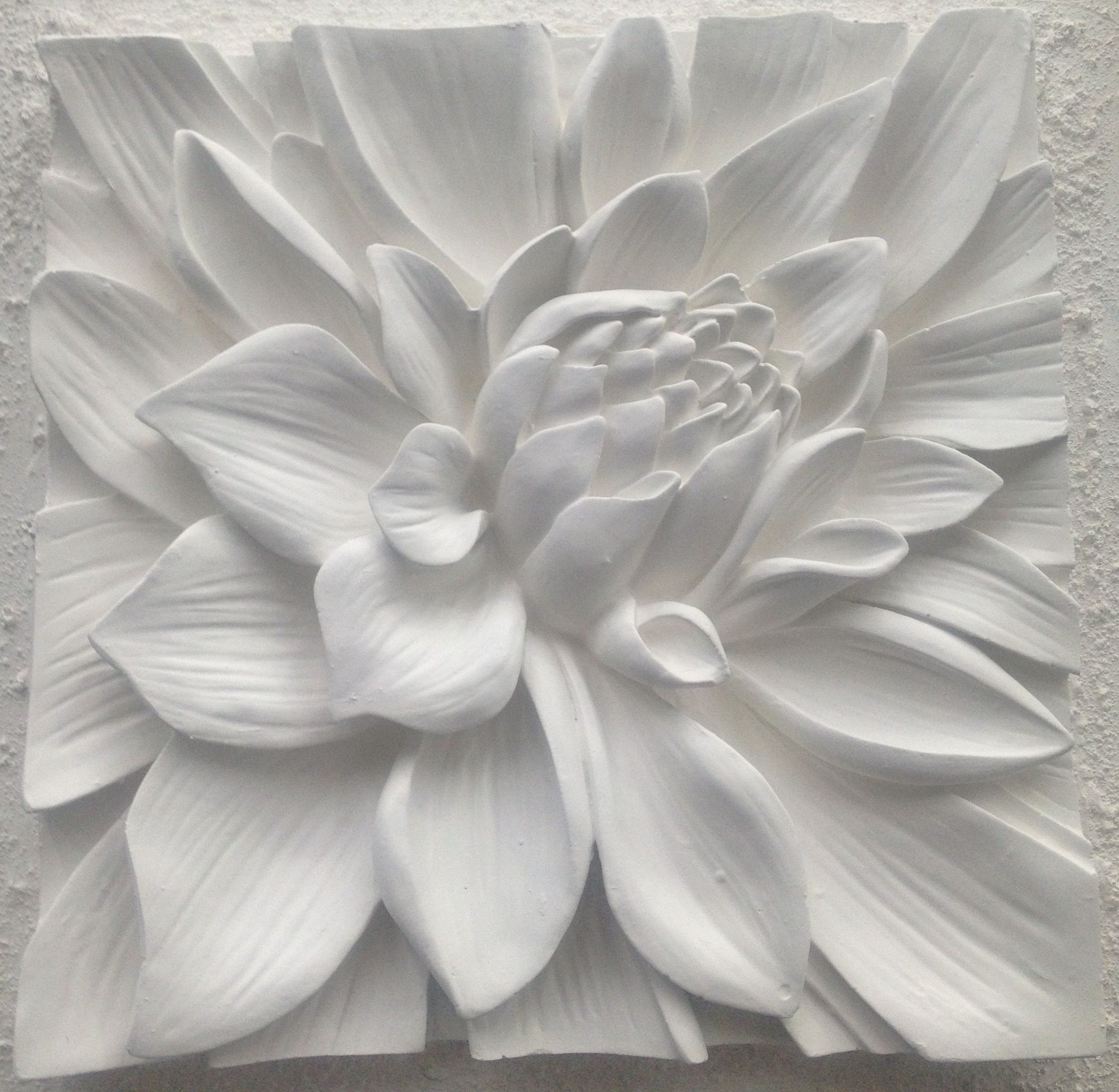 Incroyable The Favorite Is Still The Lotus Flower In Stunning Matte White  Www.bellaartista.com · 3d Wall ArtArt ...