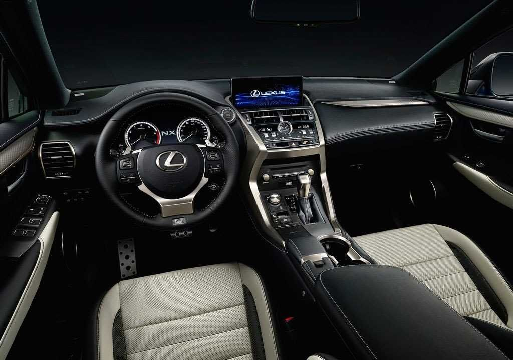 Lexus Nx 2018 2019 Serious Restyled Crossover Lexus Rx 350 Interior Lexus Interior Lexus
