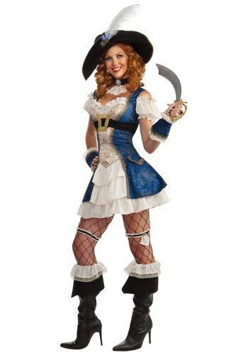 Adult Bonnie Blue Pirate Costume