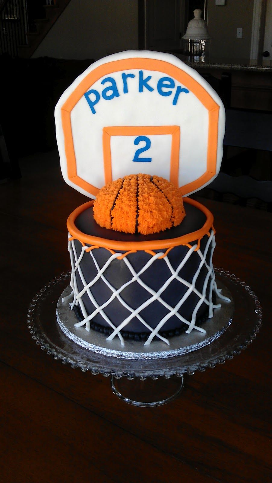 Angies Cakes Basketball Hoop Cake ideas Pinterest Basketball