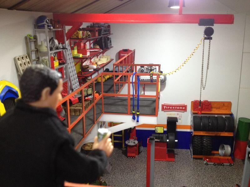 Factory scale diorama by tenerleds p gina 4 dioramas for Garajes para carros