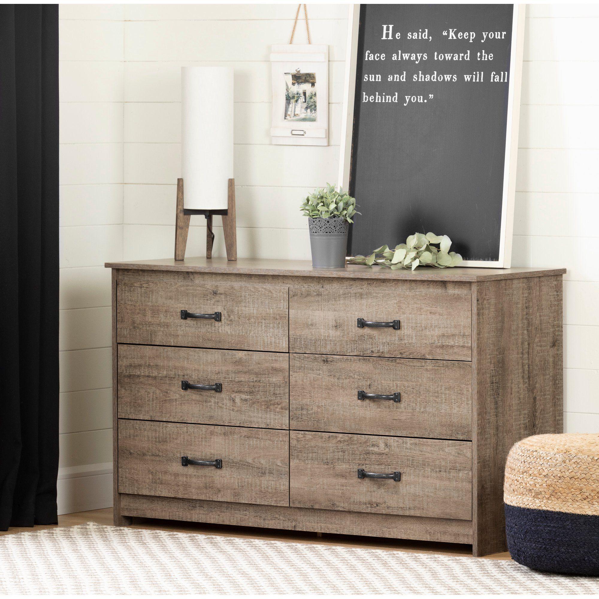 South Shore Tassio 6 Drawer Double Dresser Weathered Oak Walmart Com Oak Dresser Weathered Oak Bedroom Furniture [ 2000 x 2000 Pixel ]