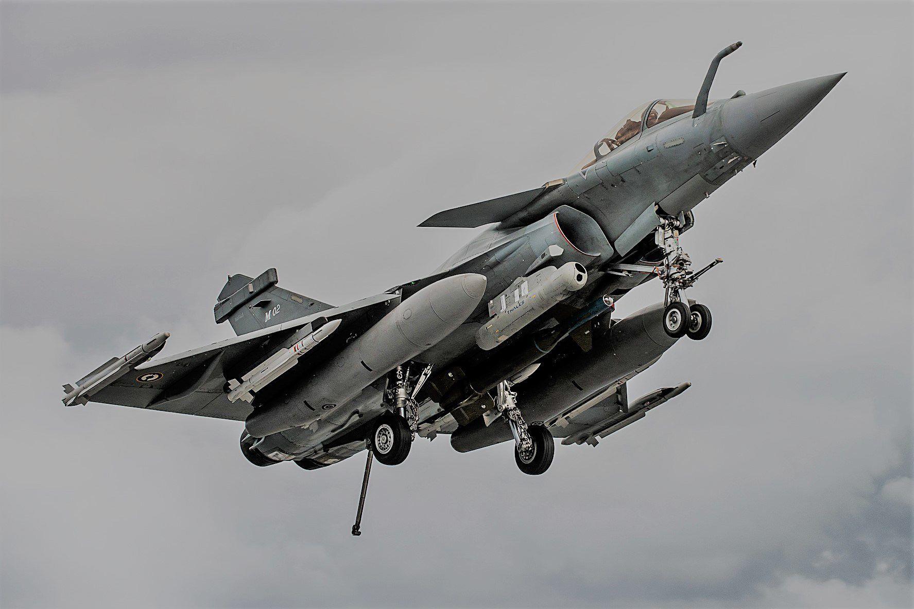 Straaljagers Armée de l'Air Dassault Rafale 2012 | Military Aircraft