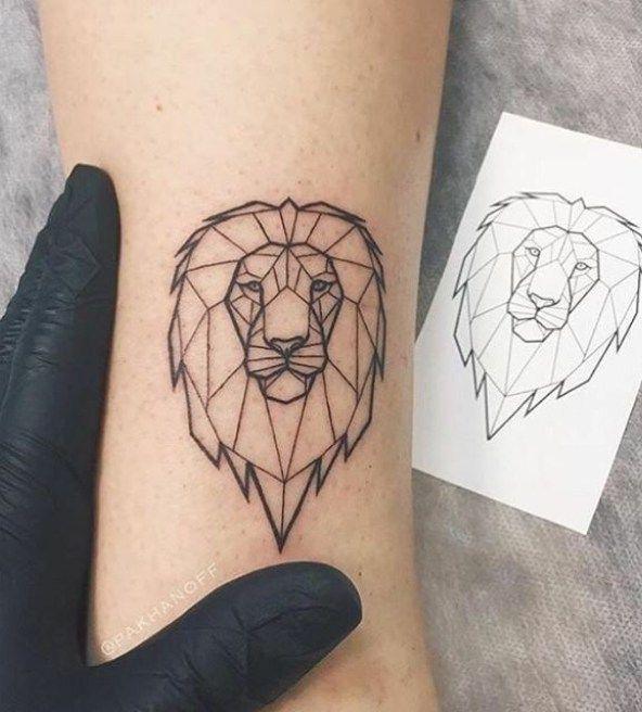 35 Geometric Animal Tattoo Ideas & Inspiration