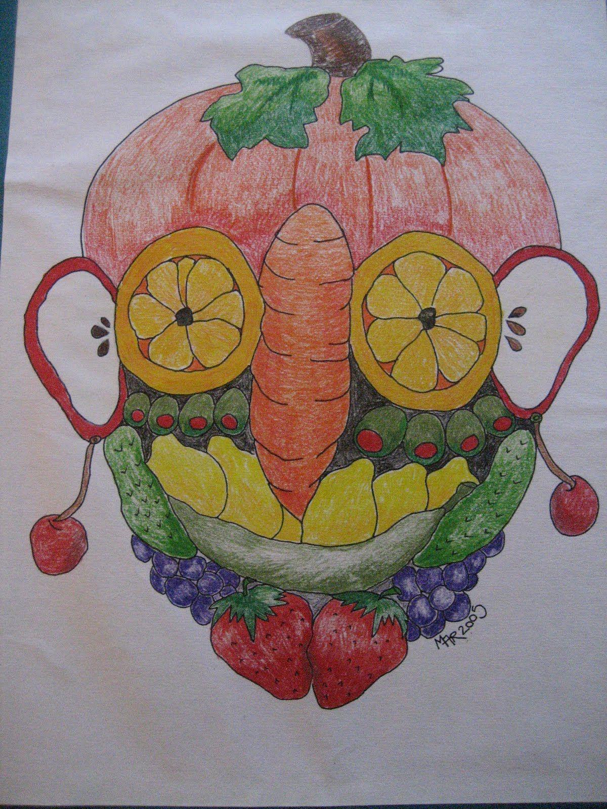 Giuseppe Arcimboldo Kids Printable - Google Art Lesson Ideas Lessons Elementary