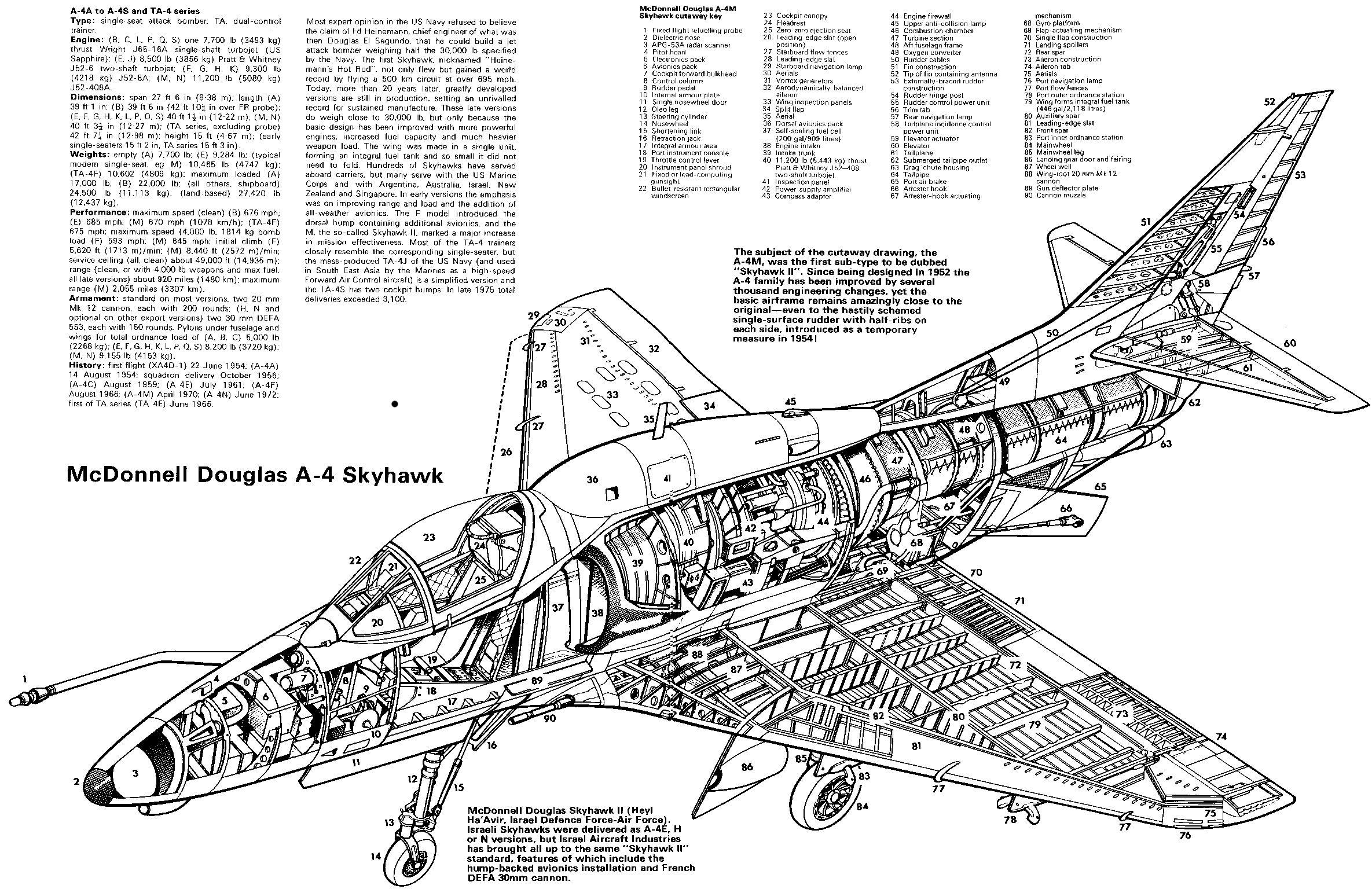 A 4 Skyhawk