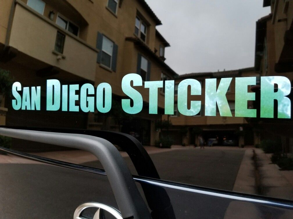 Sticker shop in san diego