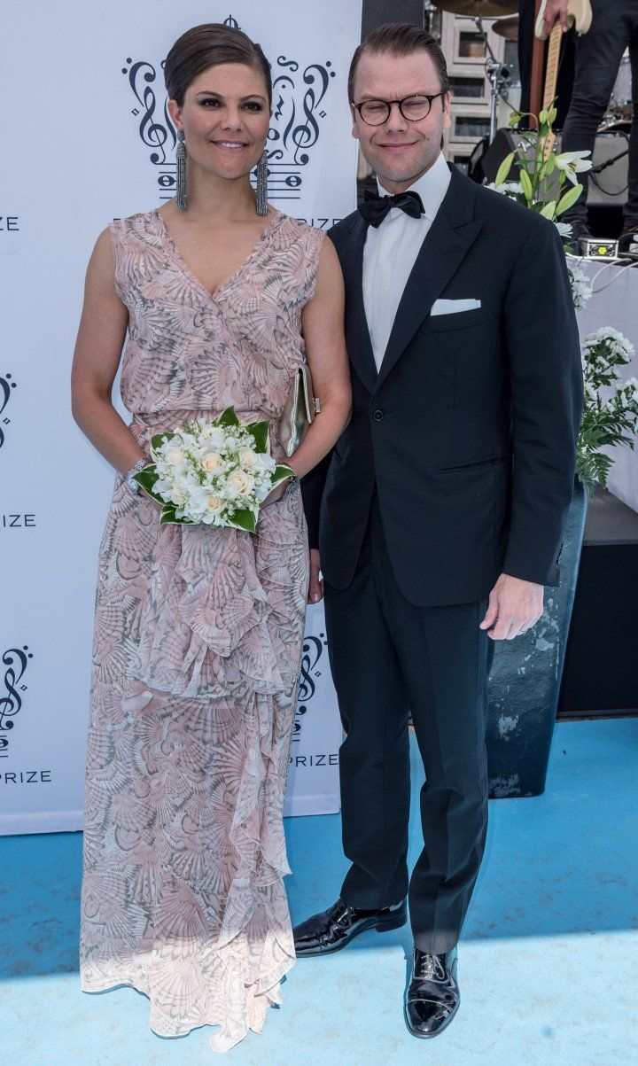 Stunning as always! Crown Princess Victoria at Polar Misic Prize.
