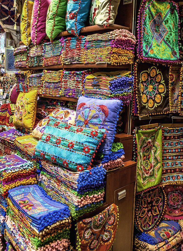 Textiles Grand Bazaar Istanbul Chicvilleusa Travel