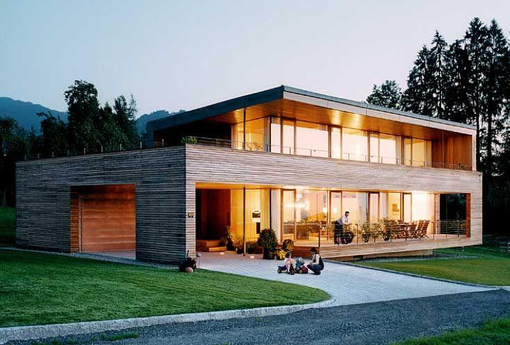 holzhaus modern perfekt mit nach hause stil minimalistisch auch mit balkon sehr sch n. Black Bedroom Furniture Sets. Home Design Ideas