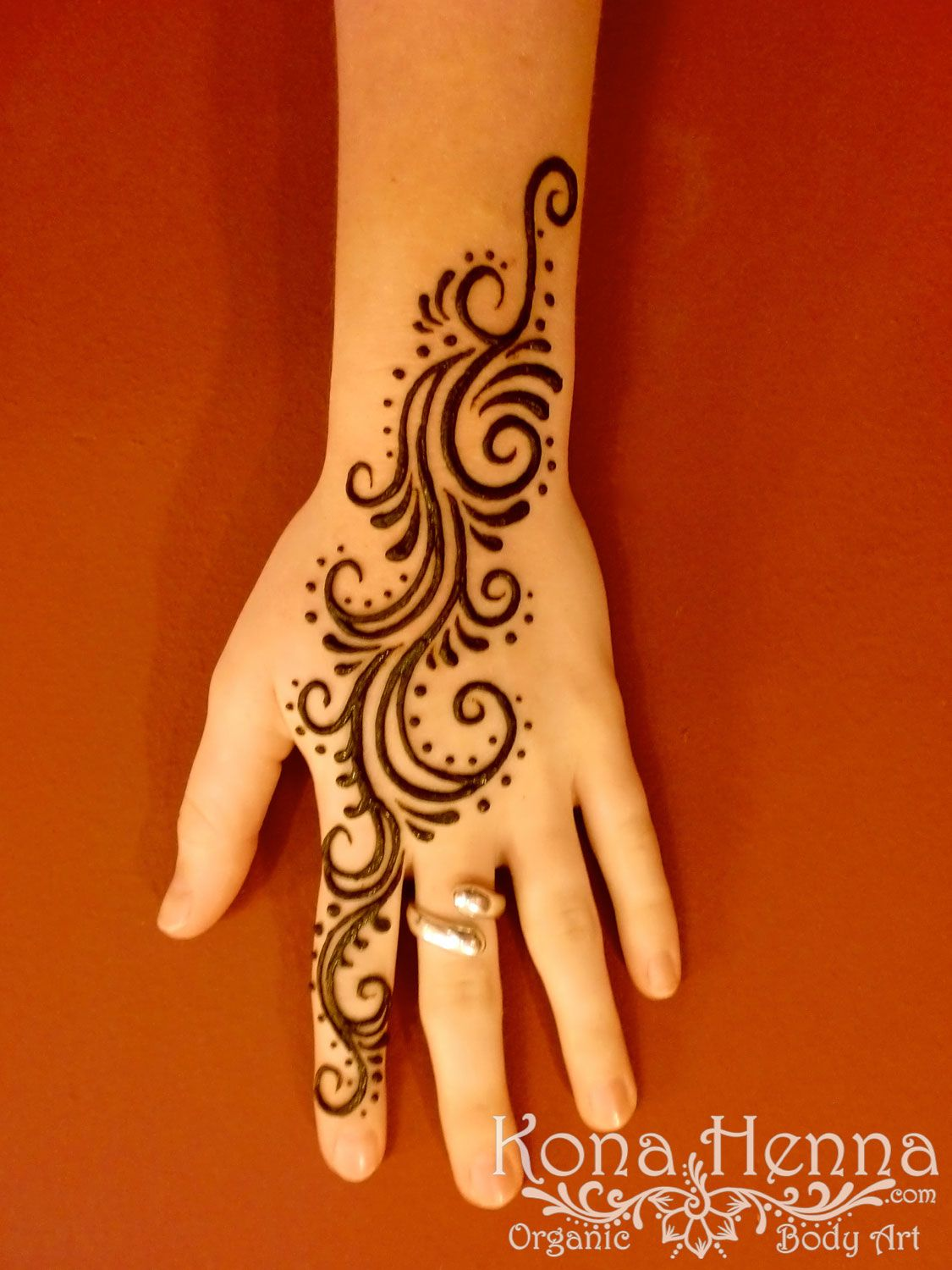 Henna Flower I Love The Simplicity Henna Pinterest Henna