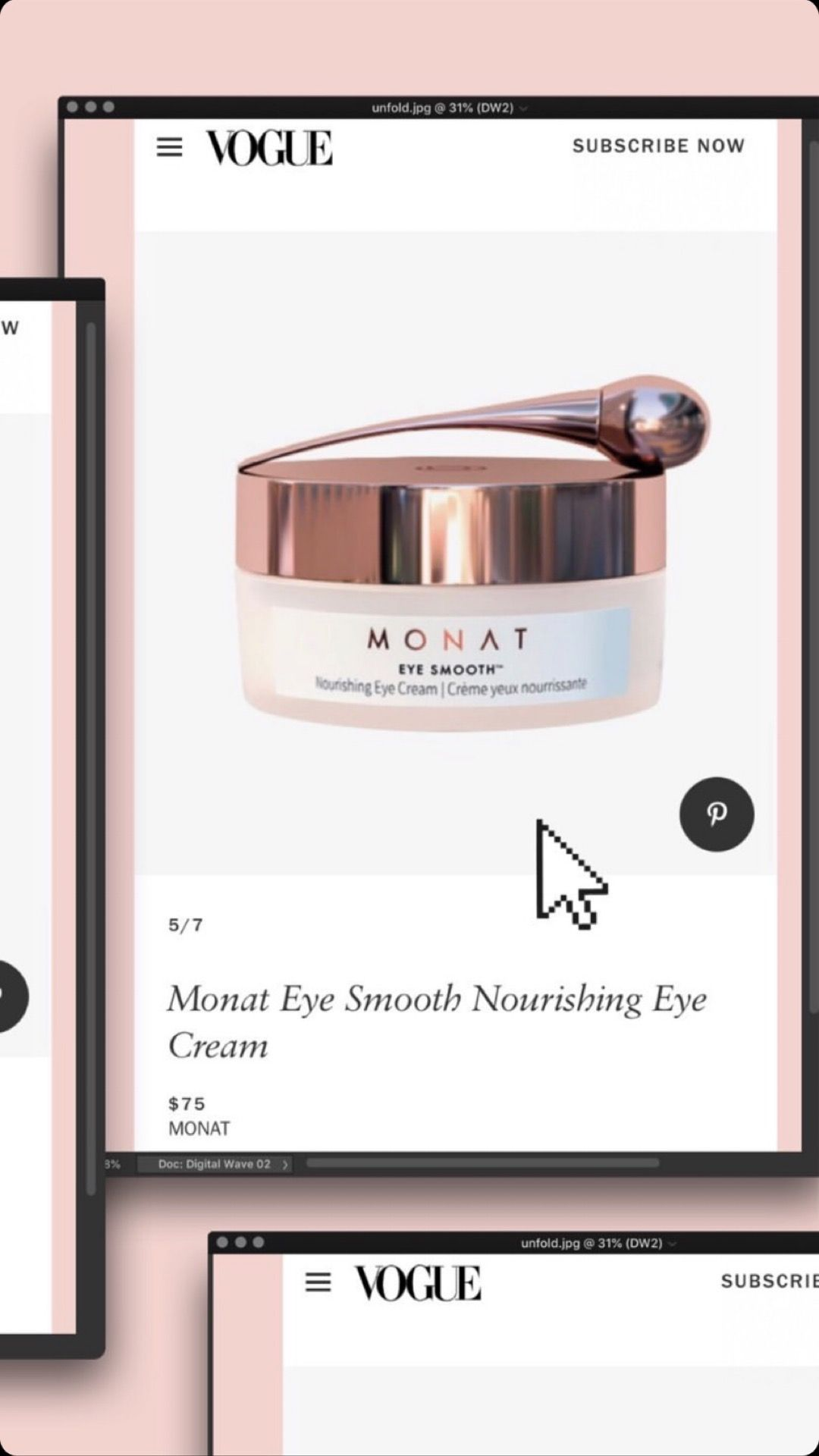 This is how amazing our Eye Smooth cream is, it is most