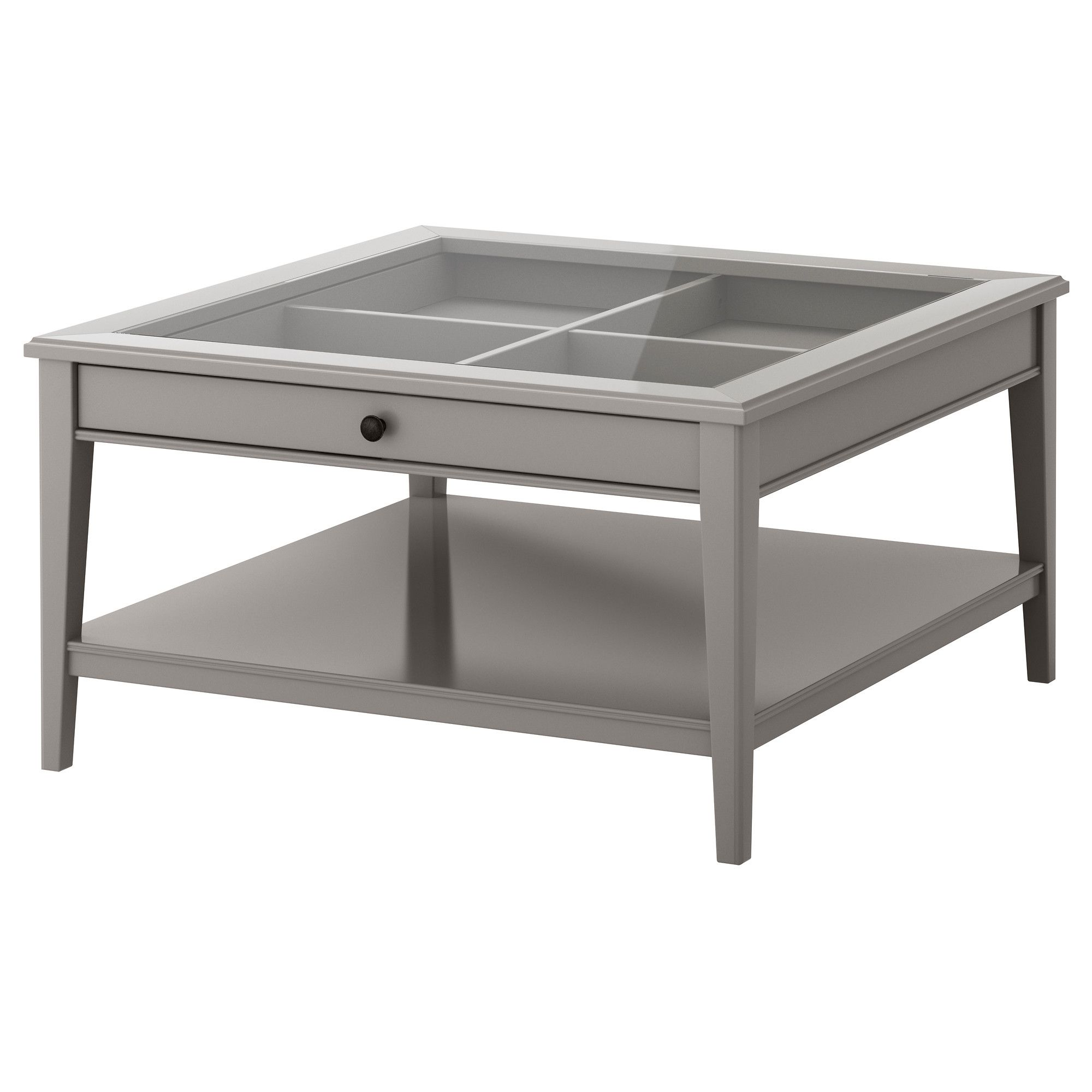 Couchtisch Baltimore Ikea Liatorp Coffee Table Gray Glass Practical Storage