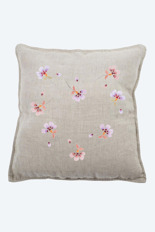 Flower Power Pervenche - Motif - Fleurs & Jardin - A télécharger gratuitement chez DMC pour personnaliser un vêtement, un cousin, ...