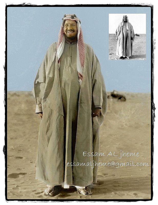 الملك عبدالعزيزبن عبدالرحمن آل سعود Royal Clothing Desert Clothing Fashion Collection Inspiration