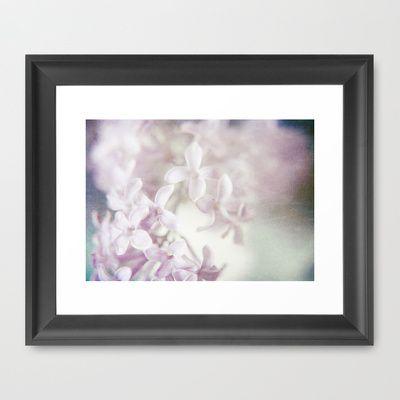Lilac Dreams Framed Art Print by Sybille Sterk - $35.00