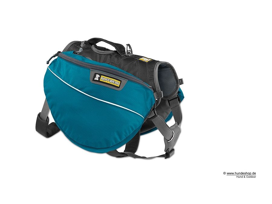 Ruffwear Approach Pack Hunderucksack blau   Drooling Dogs   Pinterest