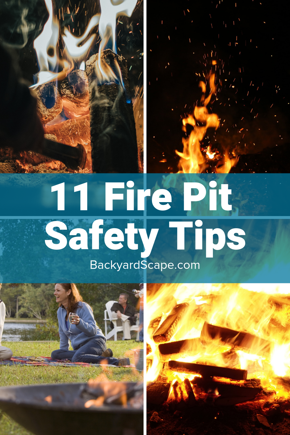 How To Put Out A Fire Pit Fire Safely And Properly Backyardscape Fire Pit Safety Fire Pit Natural Gas Fire Pit