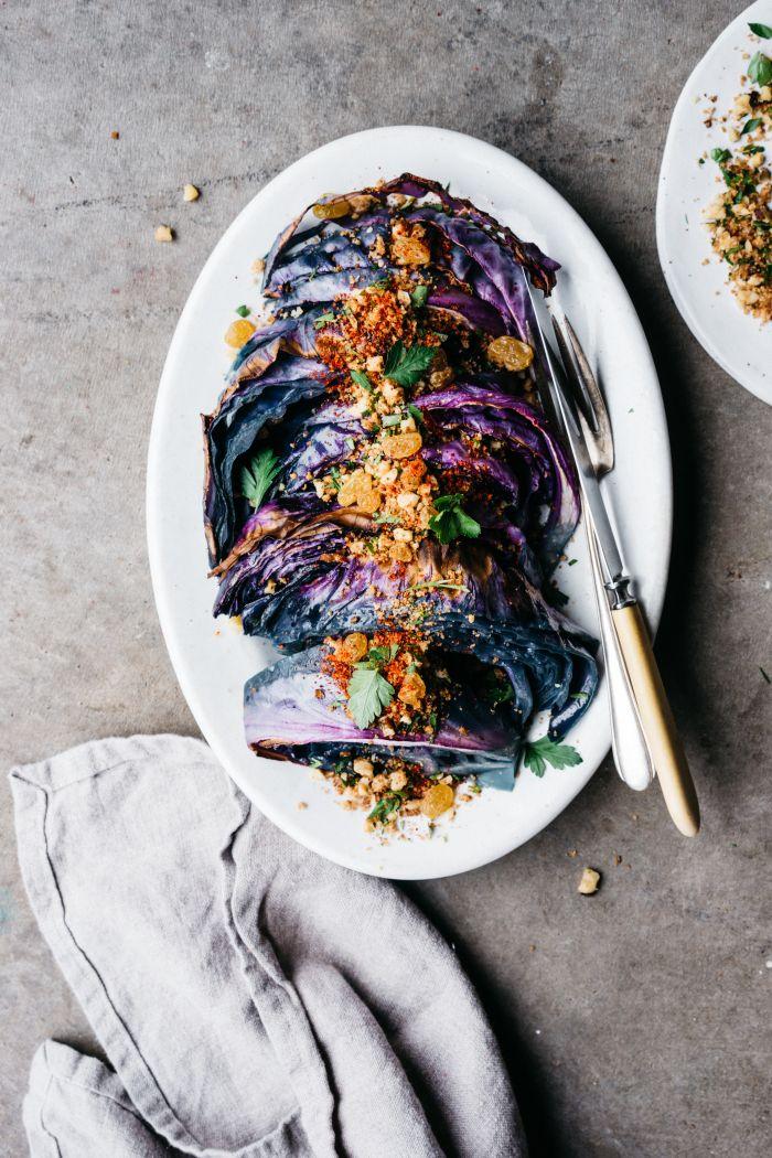 Braised Purple Cabbage