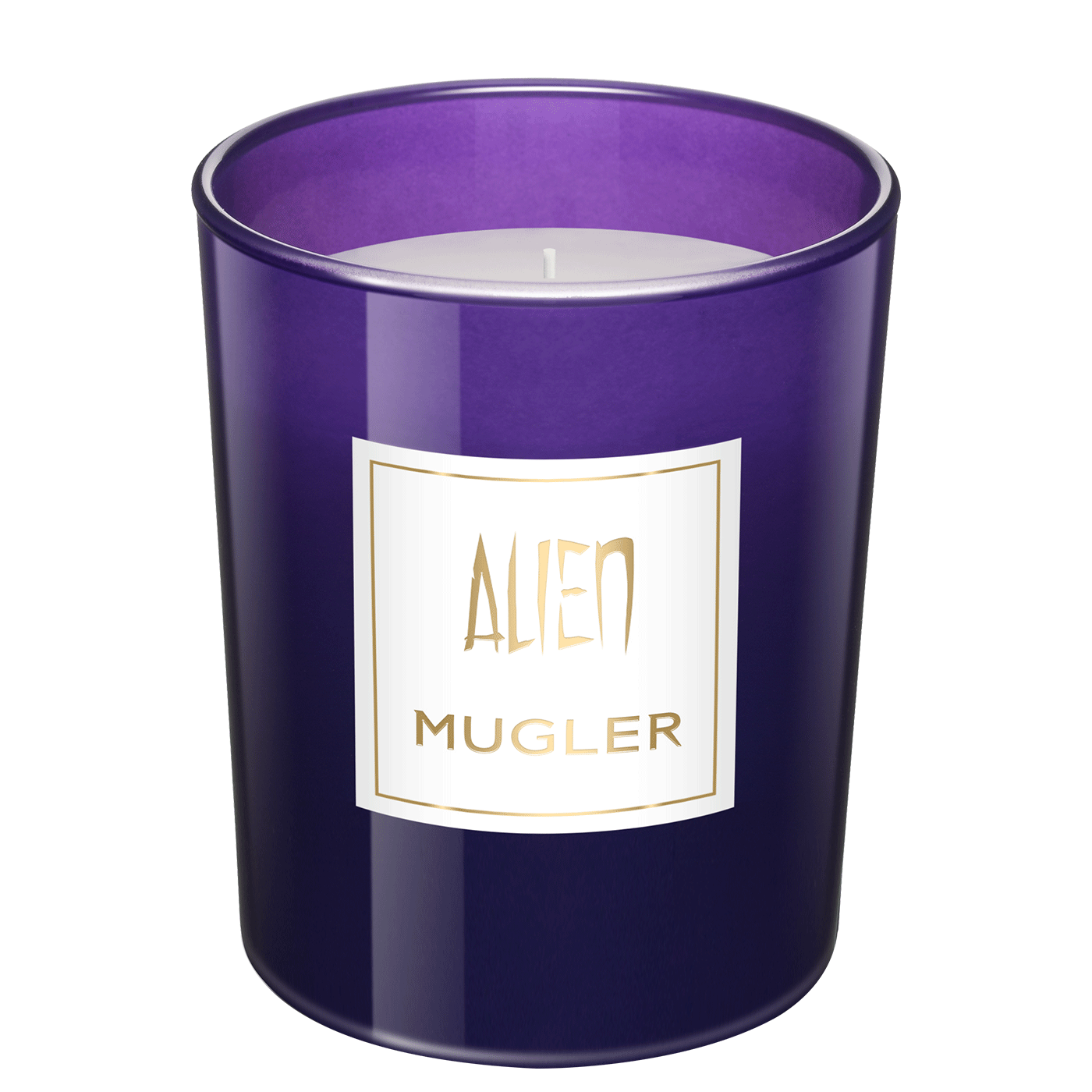 Alien Scented Candle - <p>Create the perfect ambiance at home with the mysterious scent of Alien!  Handcrafted in keeping with waxmaking tradition, Alien candles will give a radiant finishing touch to your interiors.    Fragrance notes: Sambac jasmine, Cashmeran wood, Amber gris</p>