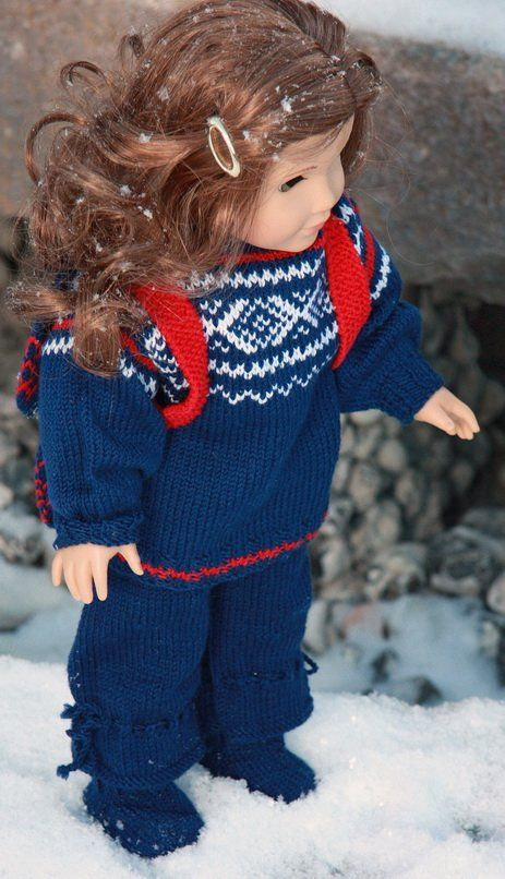 MARIUS - Lovely Doll Knitting Sweater Pattern of the Year