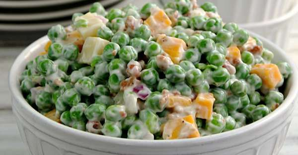Creamy Pea Salad!
