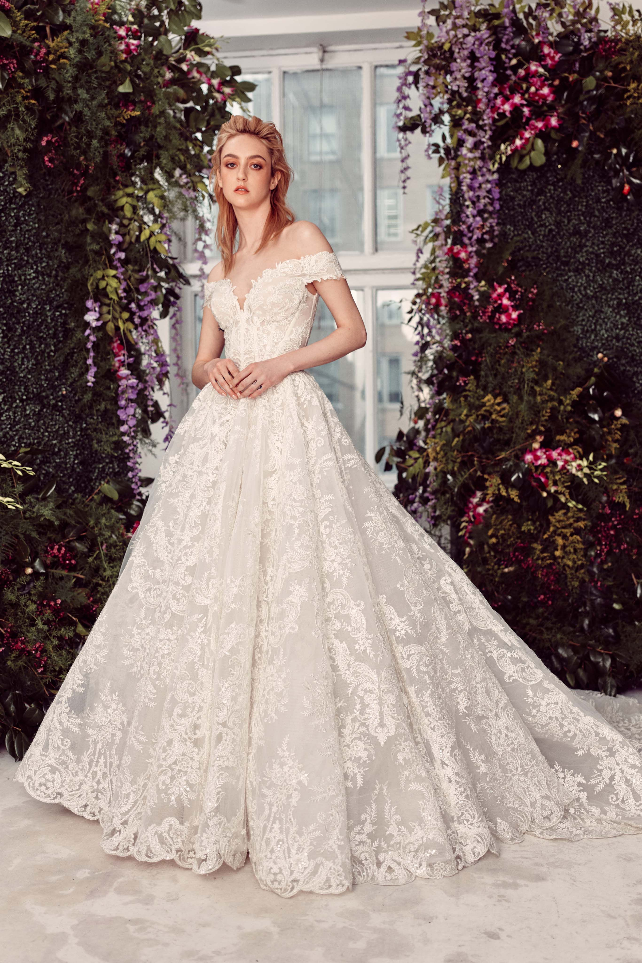 Ashton Rivini 2019 Off The Shoulder Princess Ballgown With