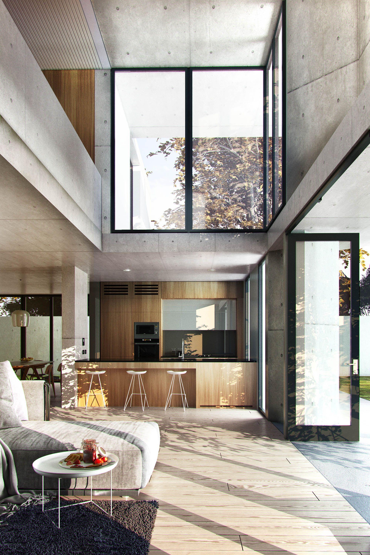 Innenarchitektur wohnzimmer grundrisse Визуализация по референсу   Галерея ddd  interieur